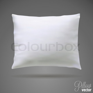 Vector Interior design element - Decorative throw pillow Vector Colourbox