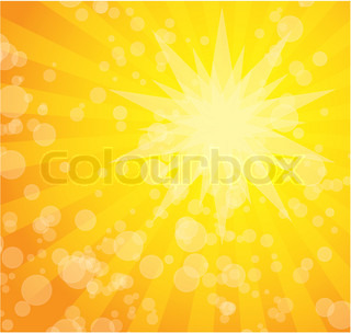 abstract sunny background with light effects and stripes