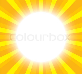 yellow sunny abstract background