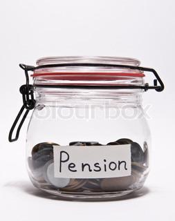 Billede af 'pension, isolated, investering'