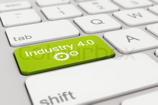 keyboard - industry - 4.0 - green
