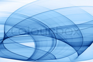 blue abstract background - high quality rendered image