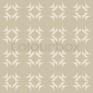 Pattern With Geometric Shapes Modern Stock Vector Colourbox