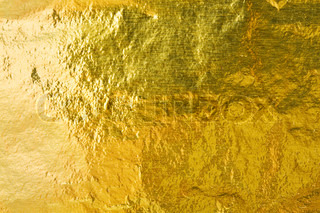 Gold foil abstract texture