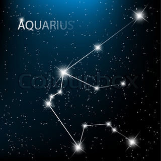 Vector of 'water, horoscope, mystery'