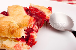 American pie cherry filling - a traditional dessert.