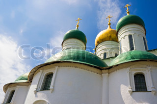 Assumption Cathedral in the Kremlin, Kolomna, Russia