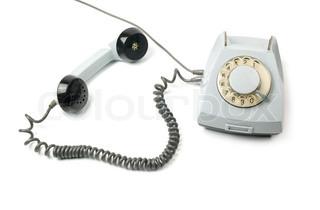 ein altes telefon mit w hlscheibe. Black Bedroom Furniture Sets. Home Design Ideas