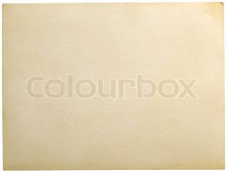 grunge gamle papir isoleret på en hvid
