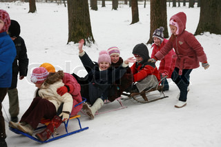Winter Games for children