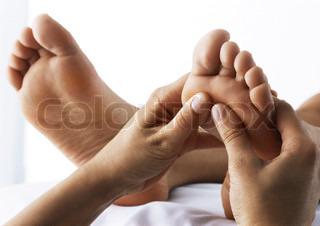 Image of 'reflexology, massage, woman'