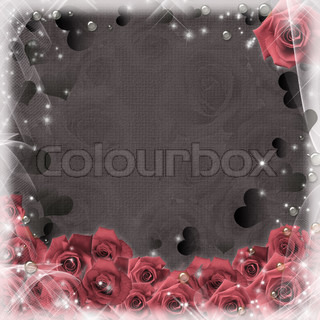 Illustration composition for wedding invitation, Mother's Day, t