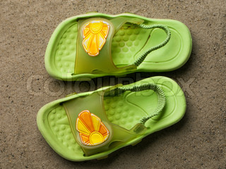 Swimming shoes - summer vacations flip-flop sandal