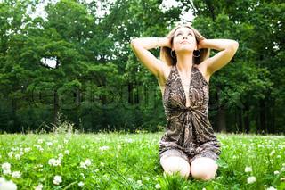 Billede af 'græsplæne, foråret, velfærd'