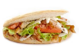 Kebap sandwich
