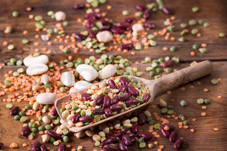 Mixed seeds legumes