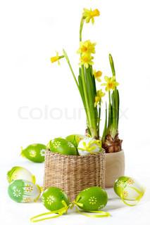 Billede af 'påske, påskelilje, blomst'
