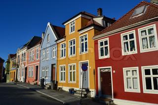 Billede af 'boliger, baggrund, rød'