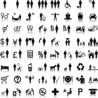 Website -und Internet- Icons - People