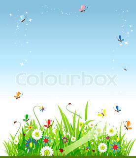 Vektor af 'natur, sommer, mønster'