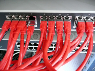Network Switch and Optical Cabling
