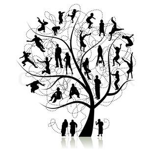 Stamtræ , pårørende