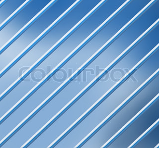 blue background with parallel lines
