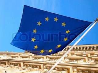 Flag Den Europæiske Union