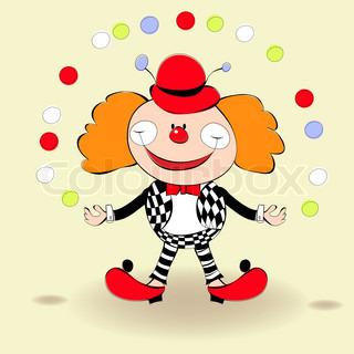 glückliche Clown