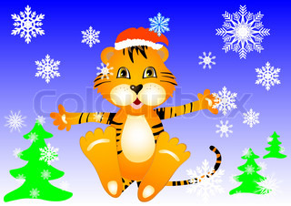 tiger baby new year
