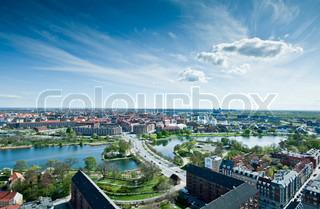 København fra Over