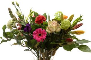Billede af 'buket blomster, buket, blomster'