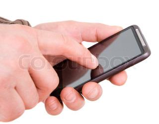Billede af 'smartphone, hånd, mobil'