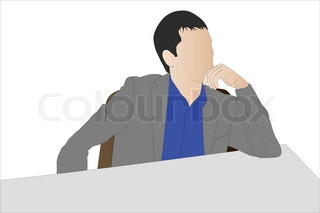 Vector of 'male, professional, shadow'