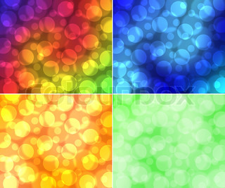 Abstract multi-colored background with effect of light