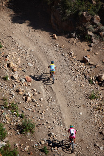 in action at Adventure mountain bike cross-country marathon