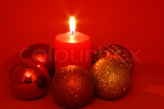 Image of 'weihnachten, fire, nobody'