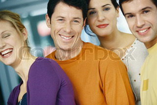 Image of 'group, group photo, four people'