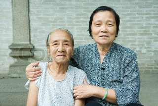 Image of 'china, old age, elderly person'