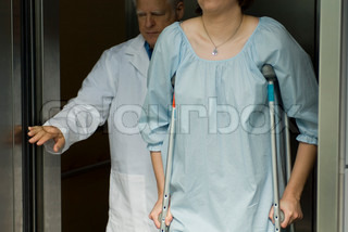 Image of 'hospital gown, hospital, patient'