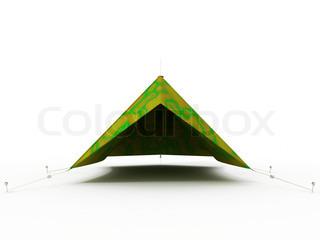 zelt f r auto stock foto. Black Bedroom Furniture Sets. Home Design Ideas