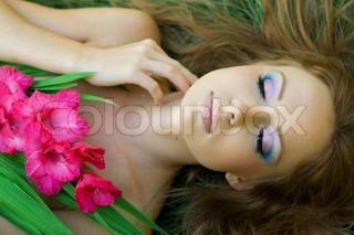 Billede af 'smuk, afslapning, bedårende'