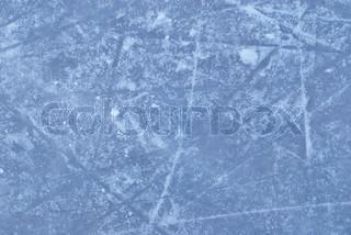 skøjtebane med sne tekstur