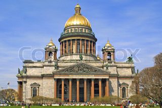 The Isaac Cathedral, St. Petersburg, Russia
