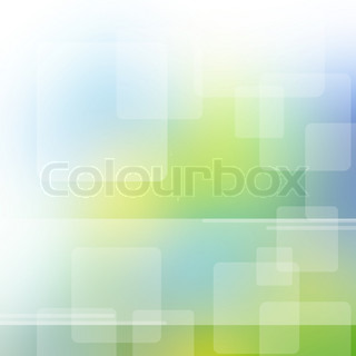 Abstract background  in green, blue, yellow, white