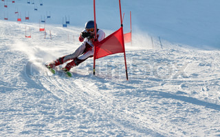 Competitions on mountain ski on March 20 2010, parallel slalom, POLYARNYE ZORI, Lavrentiev Denis