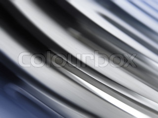 shining metal texture in perspective for background