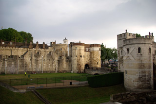 View on The Tower of London in the evening