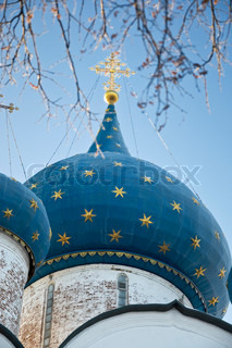 Dome of the Nativity cathedral in Suzdal, Russia The Kremlin is the heart of Suzdal