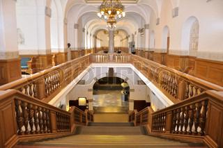 Stairway at the Folketing, Copenhagen